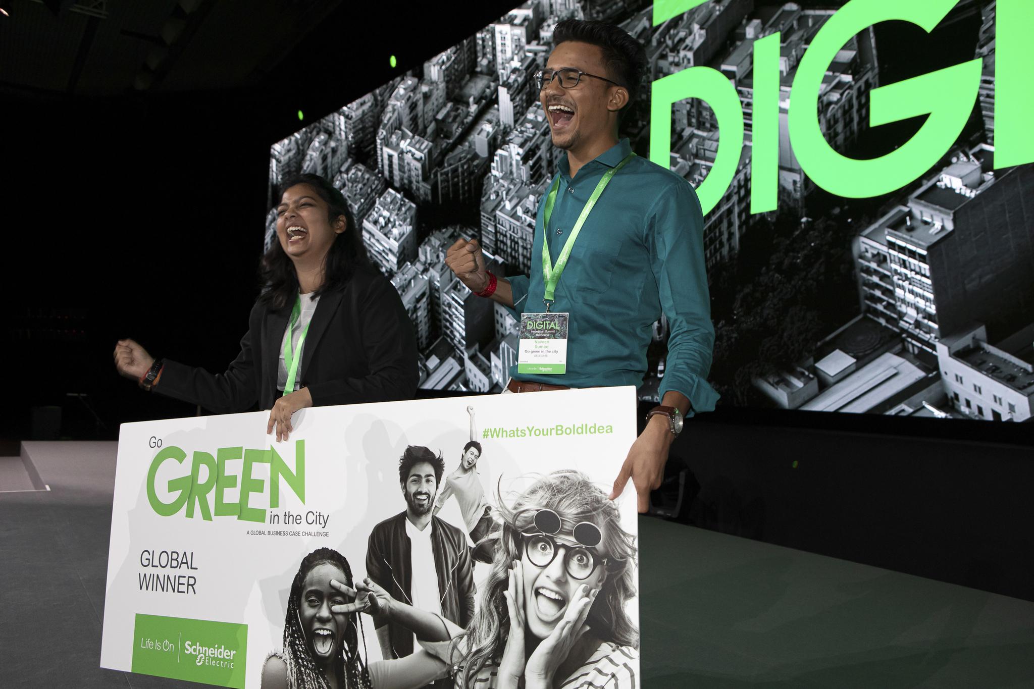SCHNEIDER GO GREEN – Competição internacional com inscrições abertas!